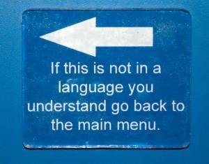 Confused about language?