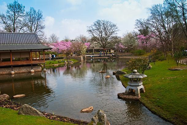 The Japanese Garden of Hasselt, Belgium