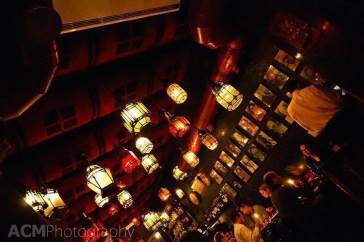 Inside La Kasbah Moroccan Restaurant in Brussels city center