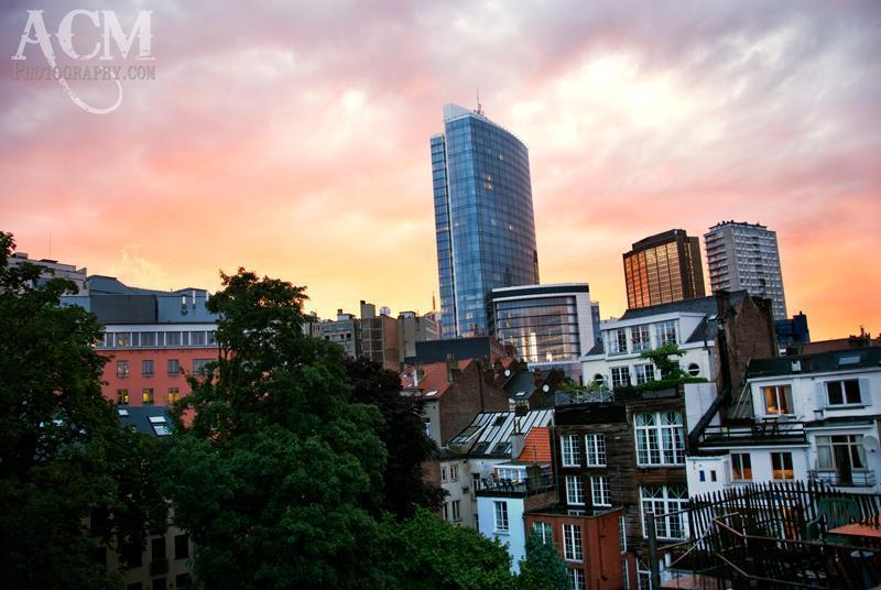 View from our home in Brussels, Belgium