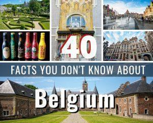 Belgium has a reputation for being a boring little country, but that is wrong. Here are 25 fun facts about Belgium you probably don't know.