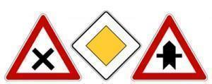 European Priority Signs