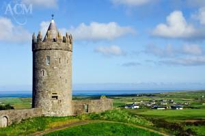 The castle over-looking Doolin on the west coast of Ireland.