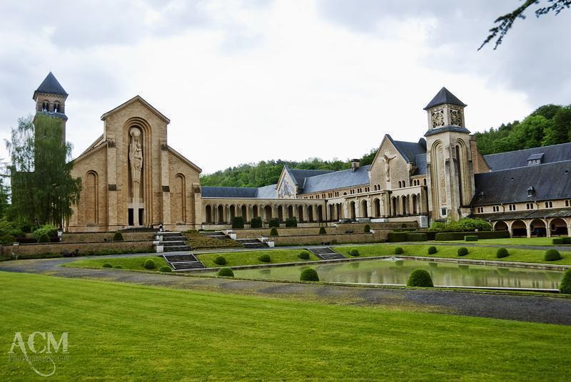 Abbey Notre-Dame d'Orval - The modern abbey