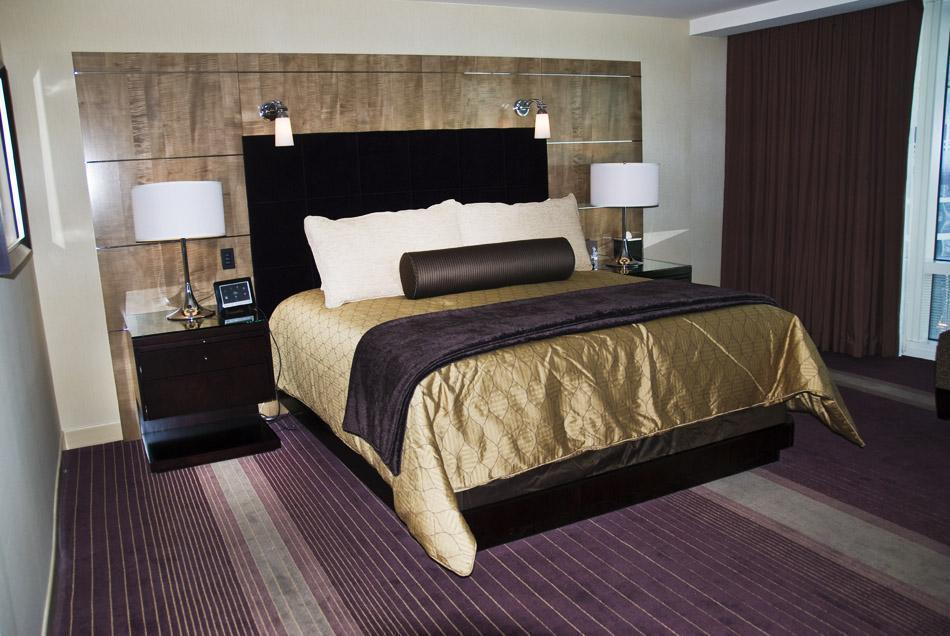 Bedroom at Aria