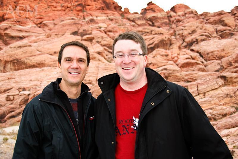 Robert and Andrew at Red Rock