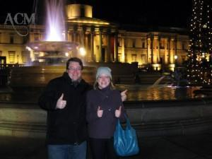 Kate and Andrew love London