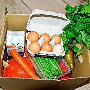 Our First Organic box from Reason2.be