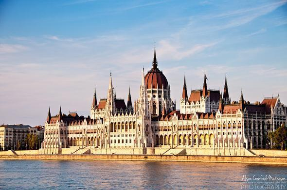 the Banks of the Danube, Budapest, Hungary