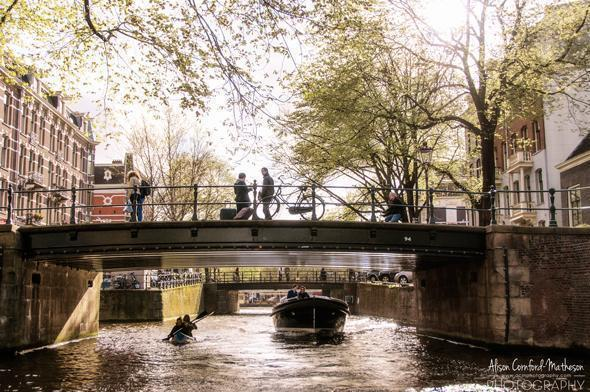 The historic canal ring of Amsterdam, The Netherlands
