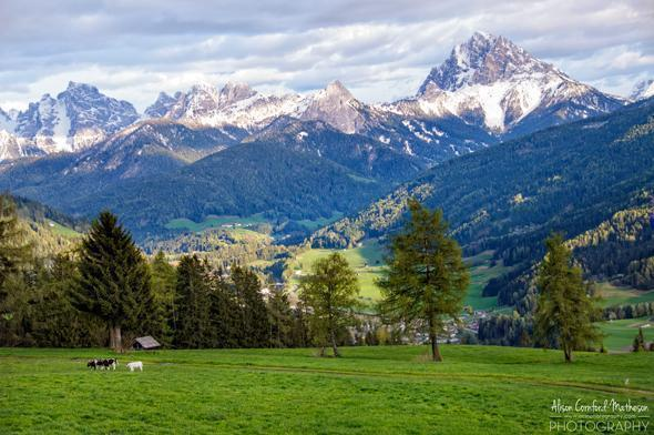 The Dolomite Mountains, South Tyrol, Italy