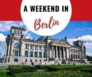 Berlin, Germany is a dynamic, artistic city that has shed, but not forgotten, its tragic past. We share how to spend a weekend in Berlin with plenty of things to do and see in this fascinating city.