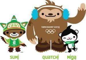 Vancouver Olympic Mascots