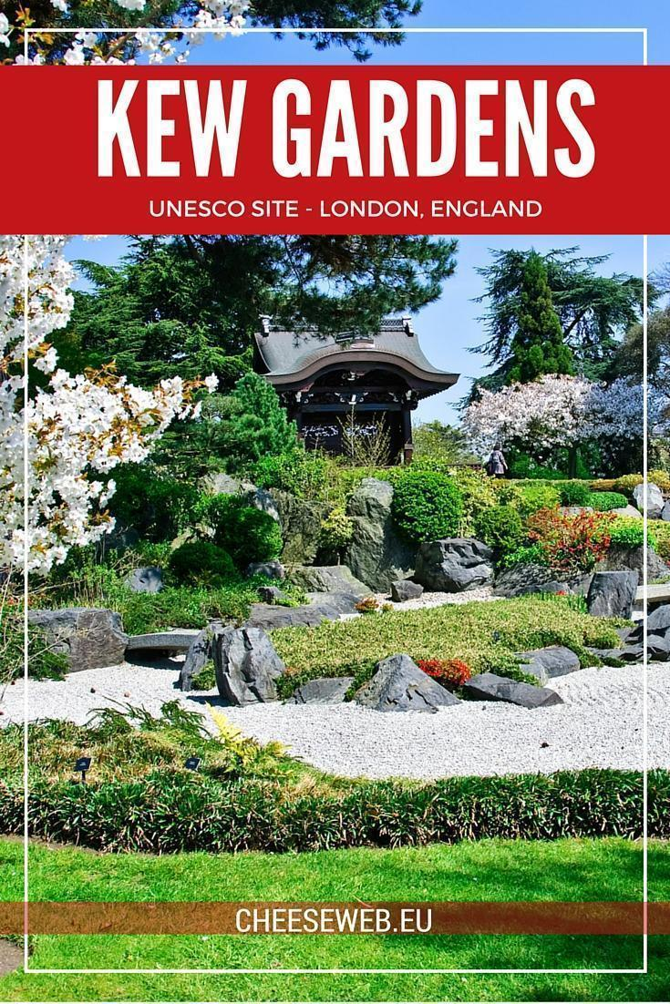 UNESCO-Listed Kew Gardens in London England