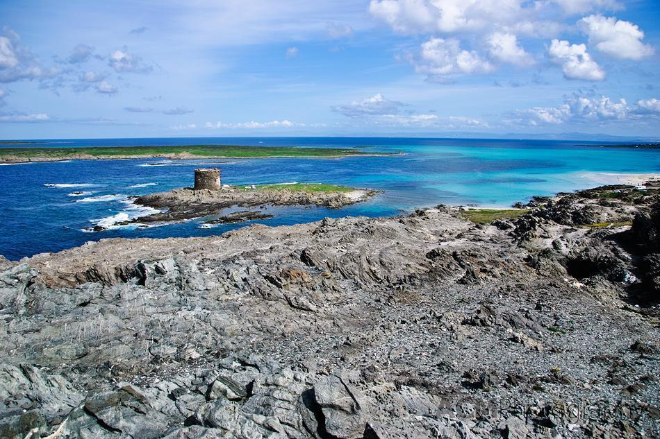 Worth the Climb to view Asinara Island and Torre de La Pelosa