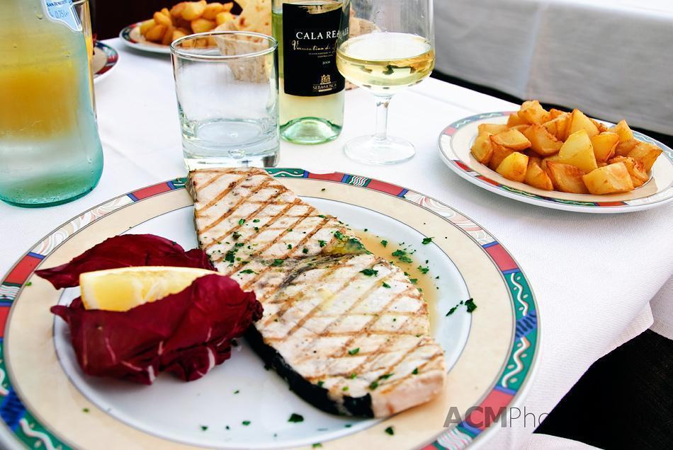 Swordfish Supper in Alghero