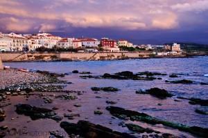 Sunset over Alghero