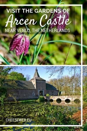 Arcen Castle Gardens near Venlo in the Netherlands
