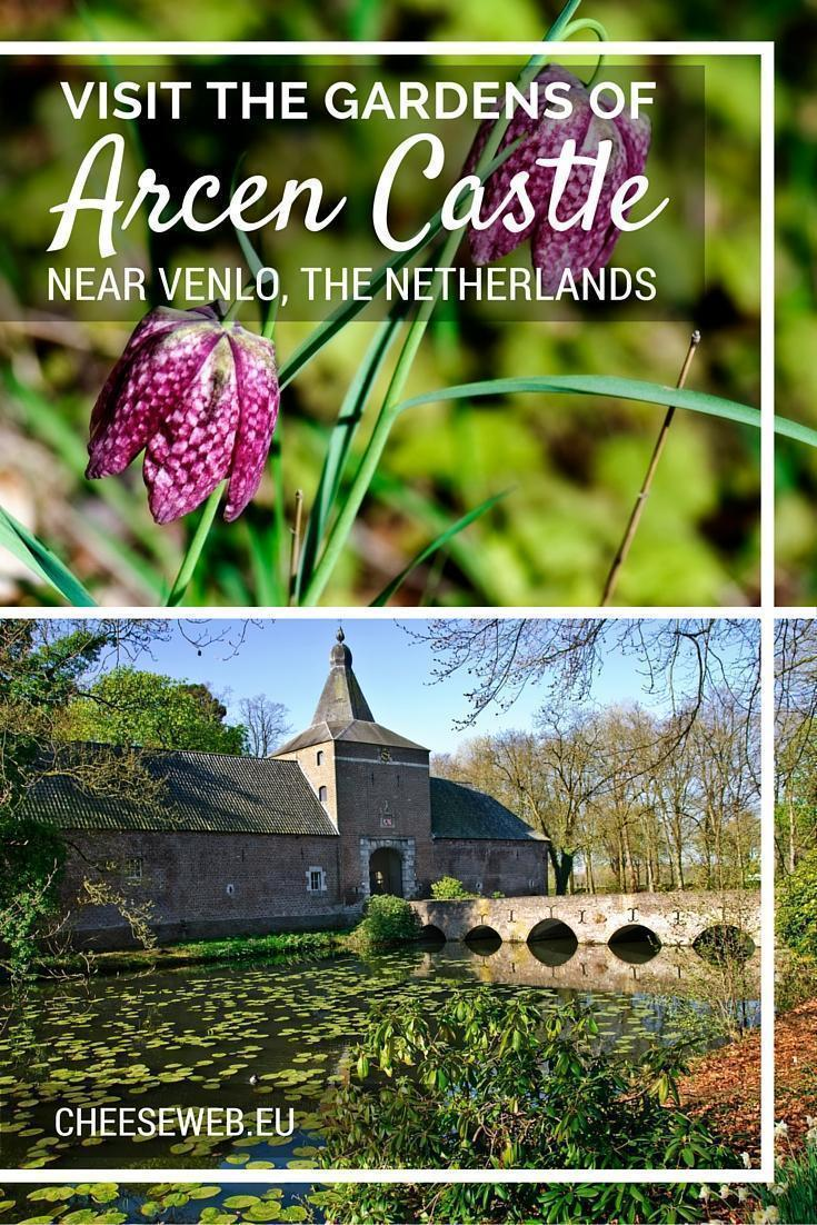 Arcen Castle Gardens near Venlo in the Netherlands