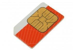 simcard for mobile phone