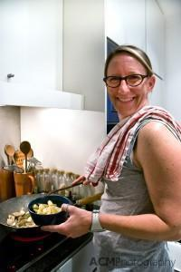 Sherry Cooking Up A Storm