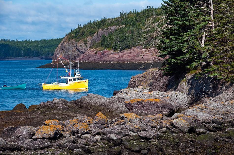 Fishing Boat off the coast of Blacks Harbour