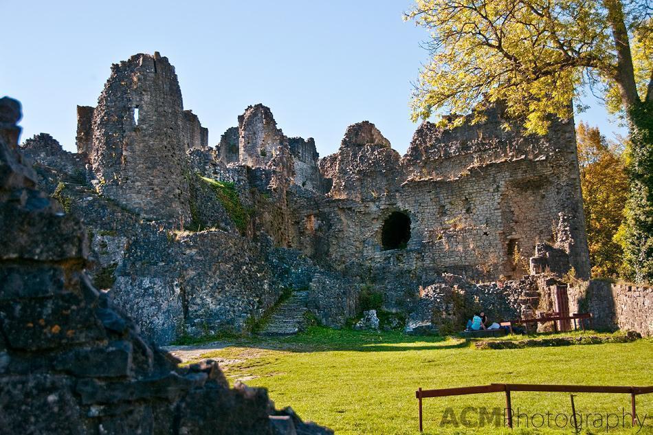 Montaigle Castle Ruins, Wallonia, Belgium
