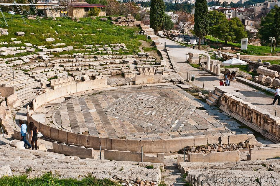 The ancient theater of Dionysus