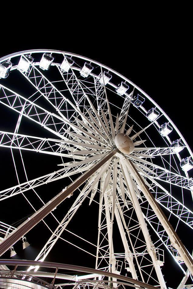 Christmas Market Ferris Wheel