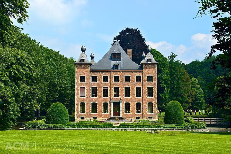 Coloma Castle in Sint-Pieters-Leeuw, Belgium