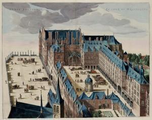 Koudenberg (By Atlas van Loon 1649)