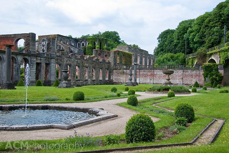 Medicinal Garden, Villers Abbey, Wallonia, Belgium