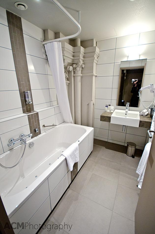 Our Bathroom at Martin's Patershof Hotel
