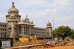 Parliament Building in Bangalore