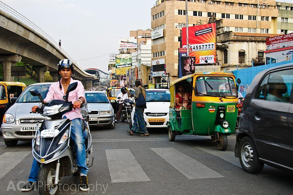 Traffic in Bangalore - ordered chaos