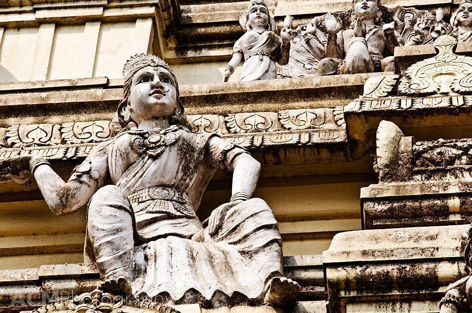 Detail of Lepakshi Temple