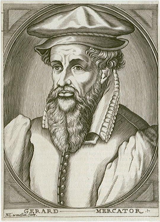Mercator famous belgian cartographer