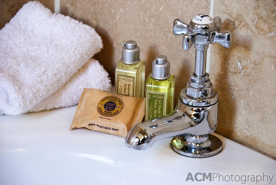 Nice Toiletries are a big plus in hotels