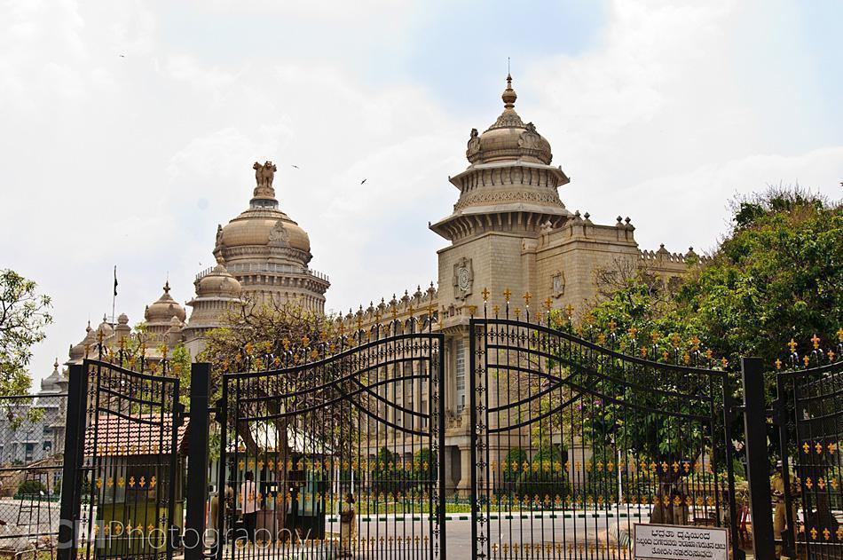 The Vidhana Soudha, home to the Karnataka Legislature