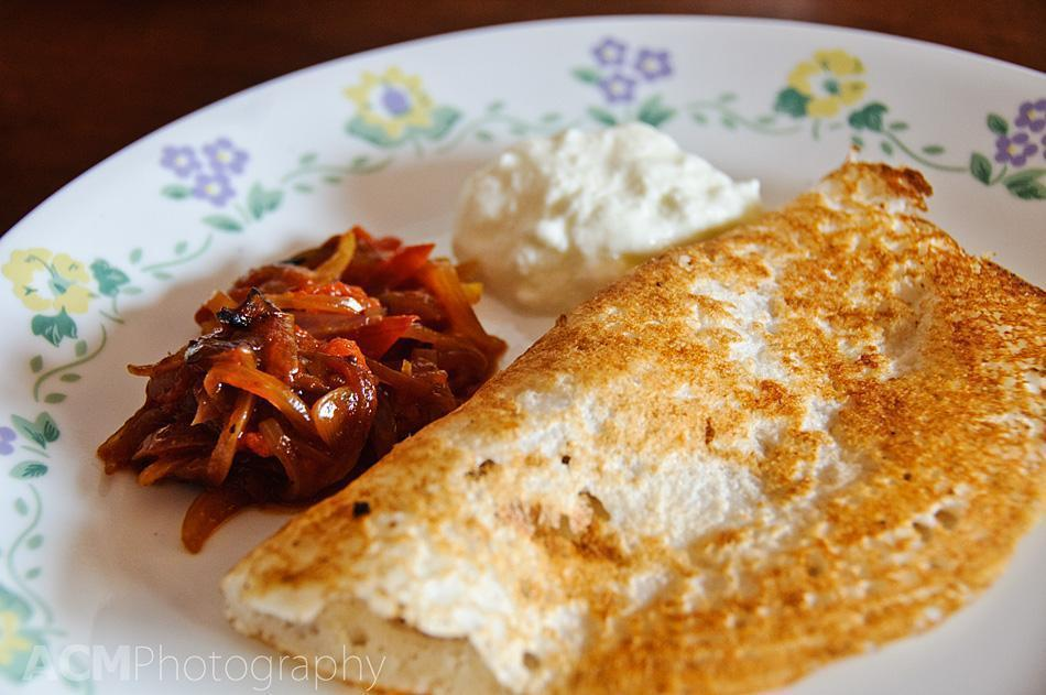 Home-made Masala Dosa
