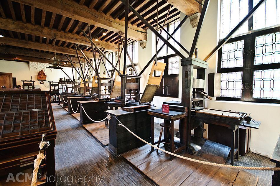 Printing Press Room - Plantin-Moretus House, Antwerp, Belgium