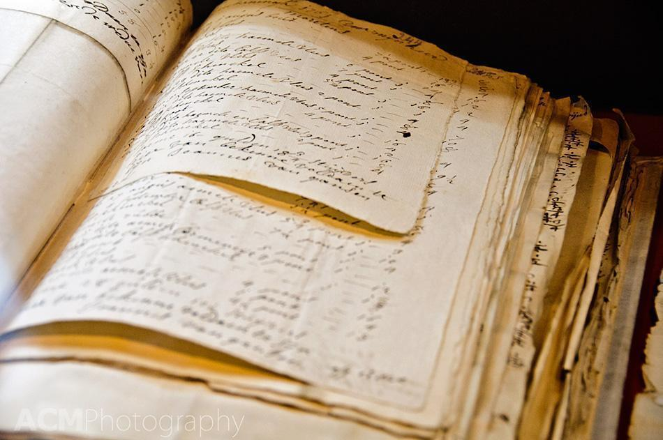 Detailed family archives at Plantin-Moretus House