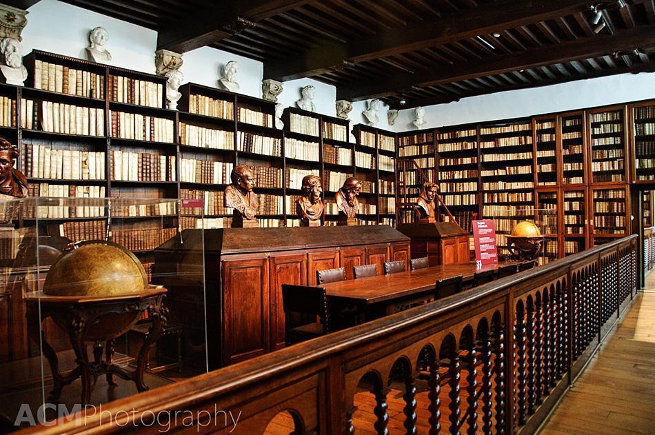 Library at Plantin-Moretus Museum