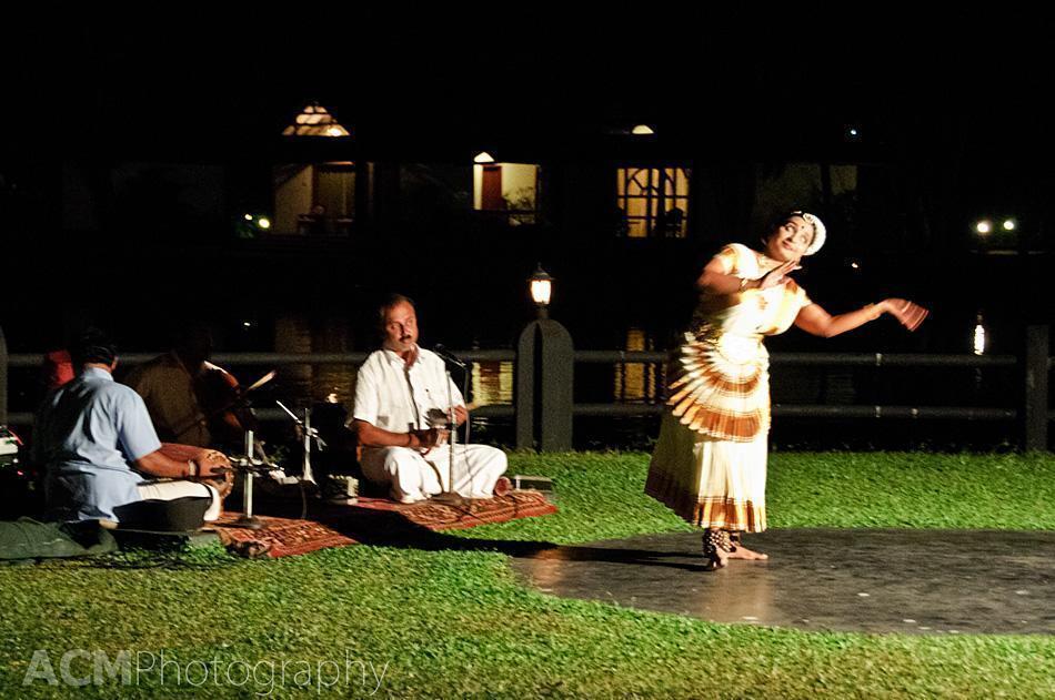 Traditional music and dance at the Taj Kumarakom