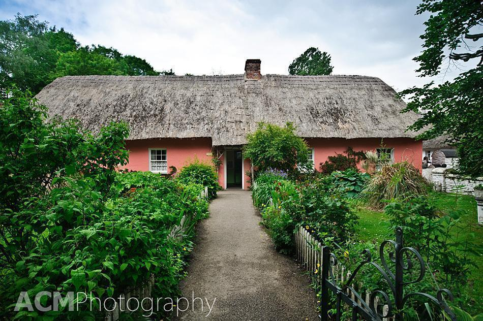 One of the many cottages in the Bunratty Folk Park