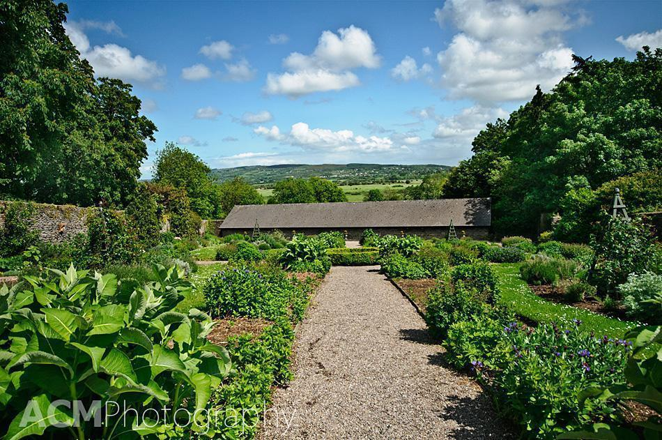 View from the walled Garden