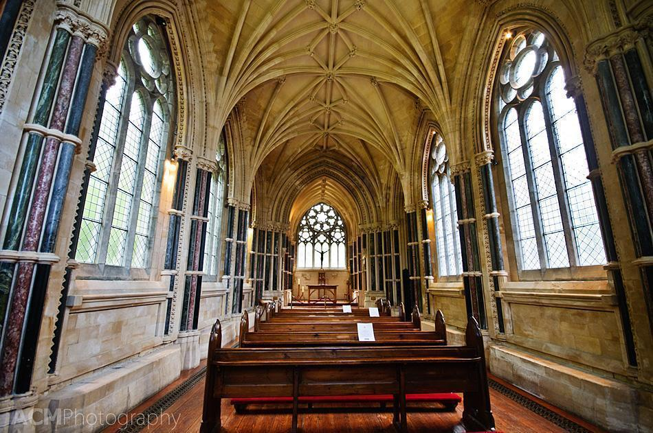 Inside Kylemore Abbey's Gothic Church