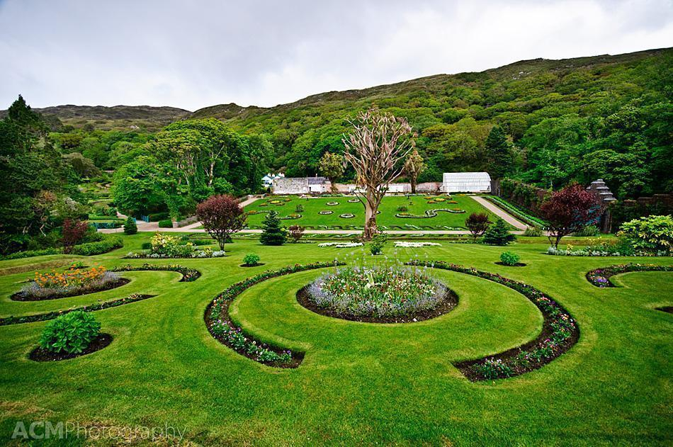 The Victorian Walled Garden at Kylemore Abbey