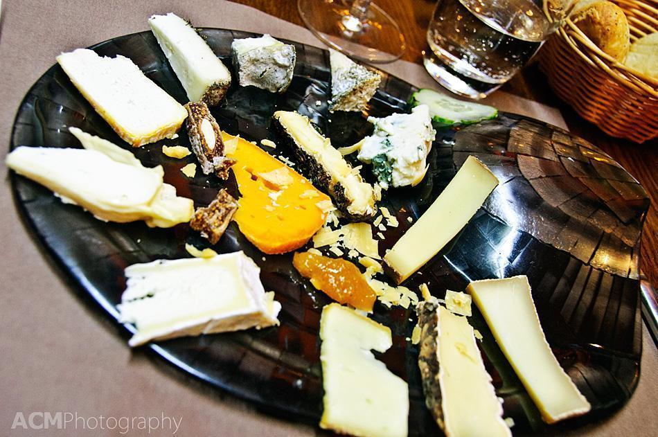 My main course of 14 cheeses