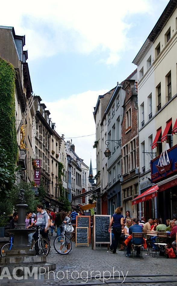 Terraces in Brussels